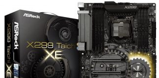 ASRock Reveals X299 Taichi XE with High-Powered VRMs