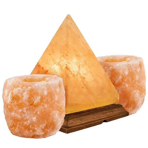 Crystal Allies Gallery Pyramid Salt Lamp Review
