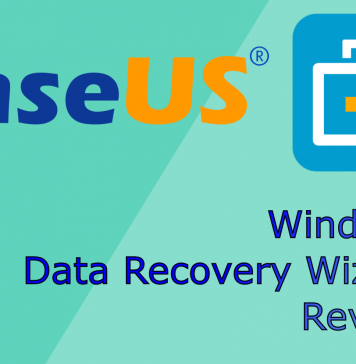 EasUS Data Recovery Wizard software for windows, free recovery program, freeware data recovery