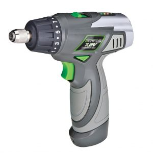 Genesis GLSD72A 7.2V Lithium-Ion 2-Speed Screwdriver