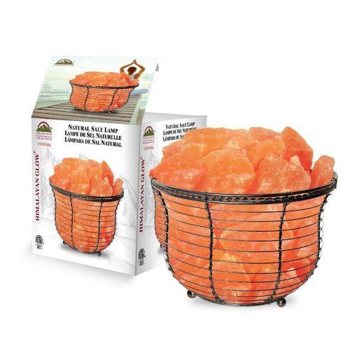 Himalayan Salt Basket Lamp Review