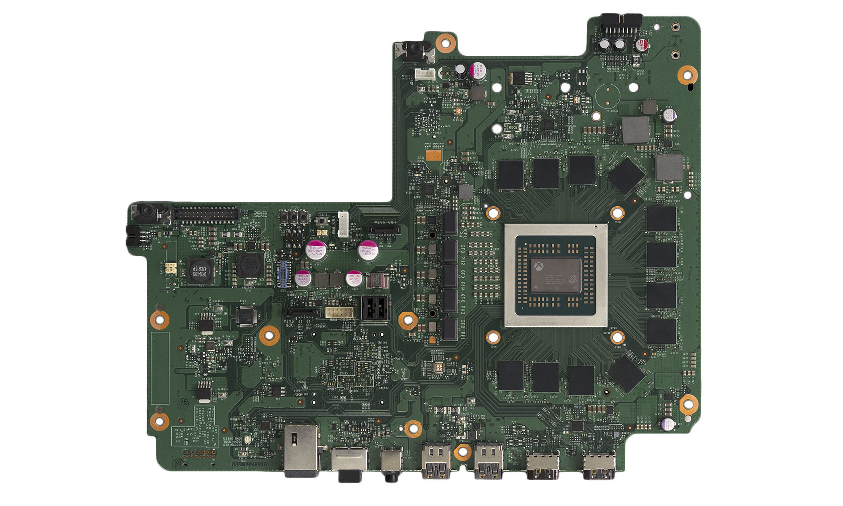 Xbox One X motherboard