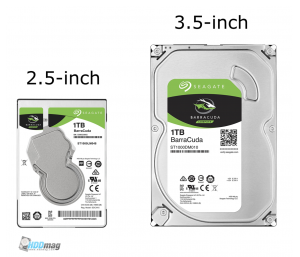 2.5-inch hard drive form factor, 3.5-inch hard drive form factor