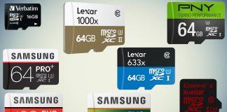 Best MicroSD cards