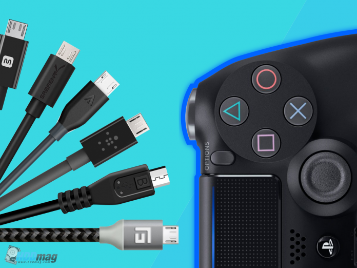 best ps4 charging cables, best charging cables USB, ps4 controller charging, dualshock 4 charging cables