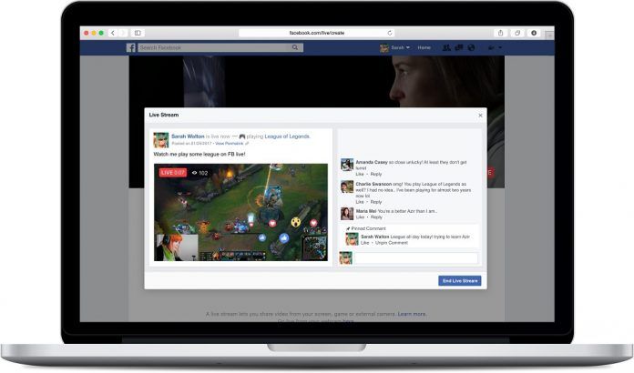 Facebook Live Prides Its Newest Built-In Screen Sharing Function