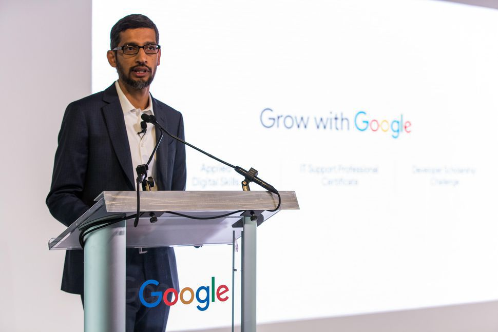Google To Give $1B Grant To Train US Workers For Tech Jobs