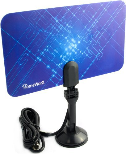 Mediasonic Homeworx HW110AN Super Thin Indoor HDTV Antenna