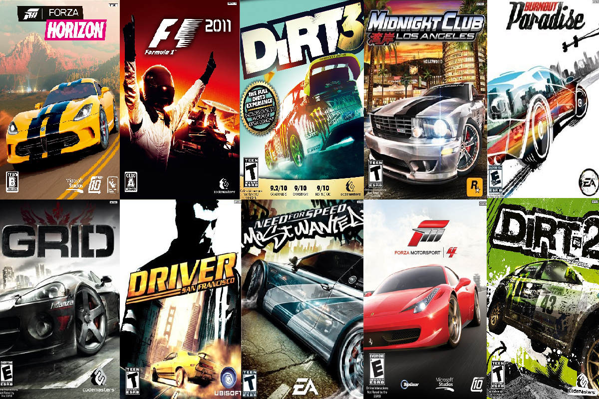 X Box One Best Car Games