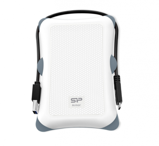silicon power rugged armor a30 white, best portable hard drive, rugged portable hard drive