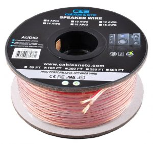 9 best speaker wire cables reviewed 2018 hddmag best gaming ce offers 100 feet enhanced 9999 oxygen free ultra flexible copper wires gauge varies from 12 to 16 excellent performance amazing sound quality for keyboard keysfo Images
