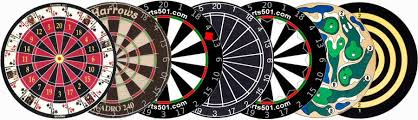Dart board types