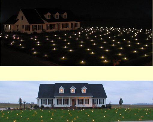 Lawn Lights 21WW10 Illuminated Outdoor Decoration, LED, Christmas, Warm White