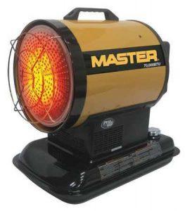 Master MH-70-SS-A 70,000-BTU Radiant Kerosene Heater