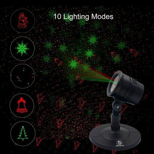 outdoor laser light projector