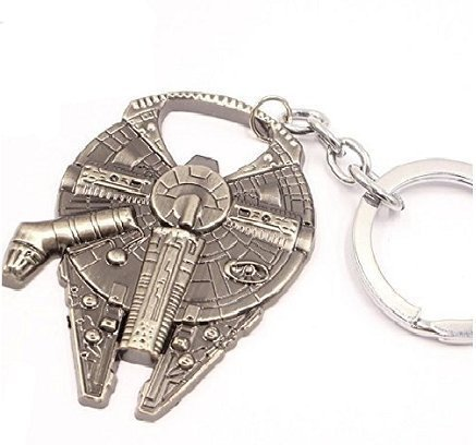 New Star Wars Millennium Falcon Metal Alloy Bottle Opener & Keychain by Hey Mari