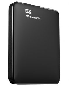 WD 1 TB Elements External hard drive