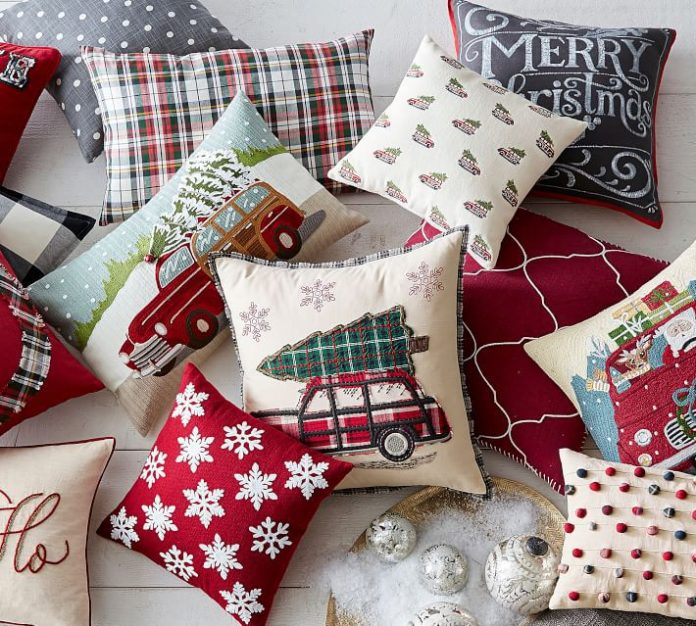 best christmas pillow cases