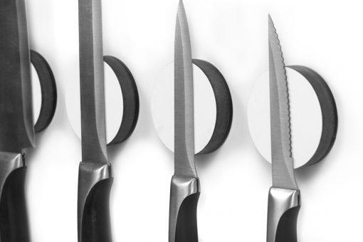 Magnetic Knife Disc - White