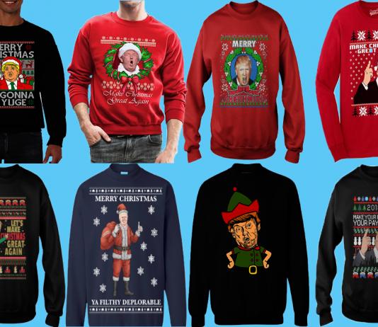 Trump Christmas Sweaters