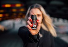 keychain pepper spray