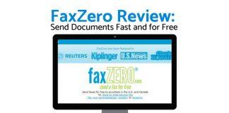 faxzero review, online fax