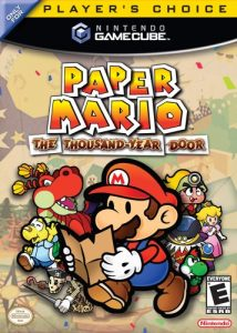 best gamecube games product image: Paper Mario The Thousand-Year Door