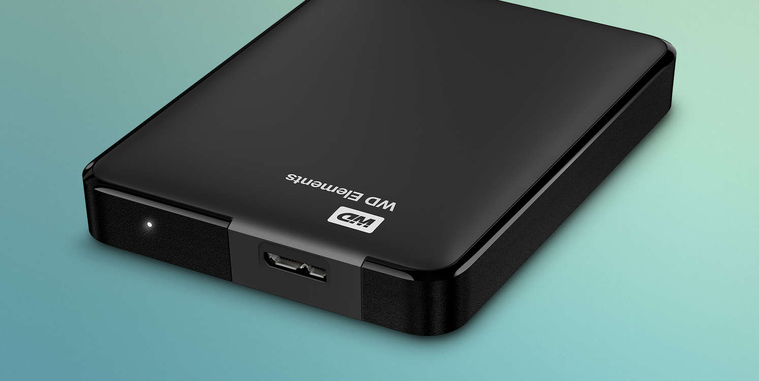 Western Digital Elements Portable HDD