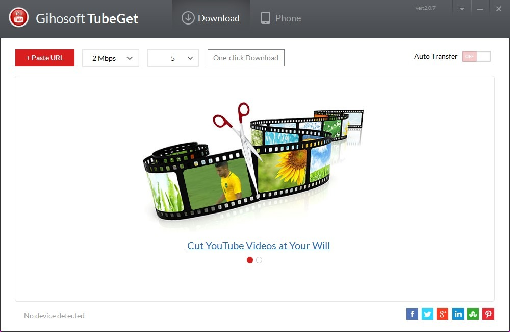 best youtube downloader - Gihosoft TubeGet