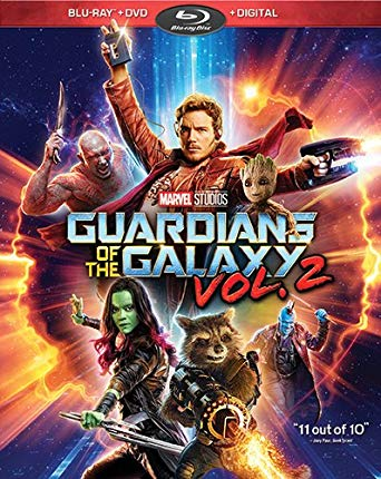 Guardians of the Galaxy Vol. 2 Blu-Ray poster