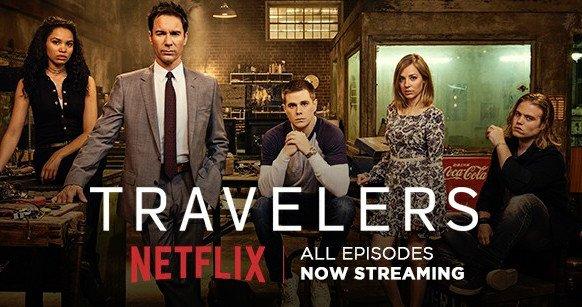 Netflix Travelers cast