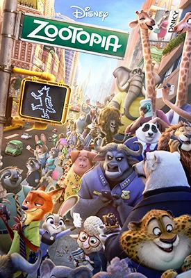 characters of zootopia movie