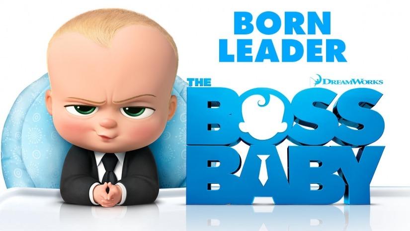 boss baby poster