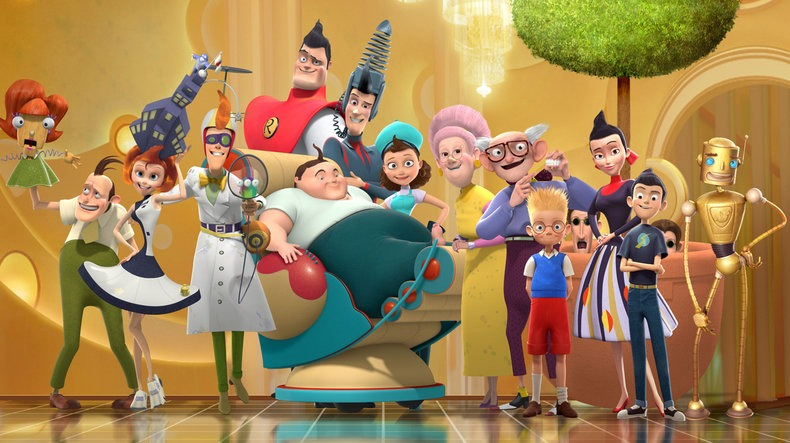 characters of meet the robinsons movie
