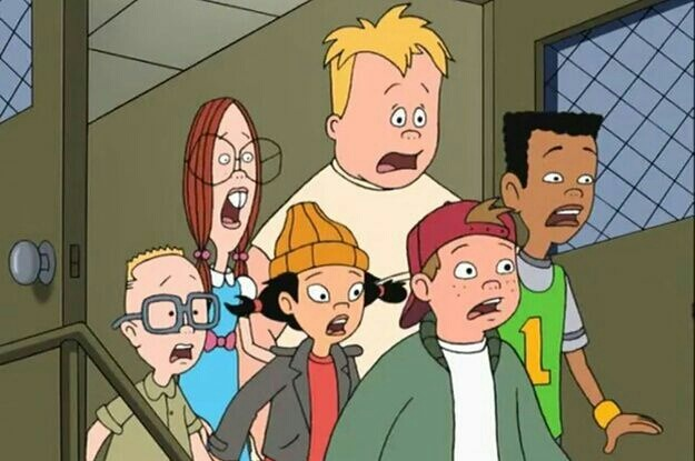 5 characters of recess: taking the fifth grade movie