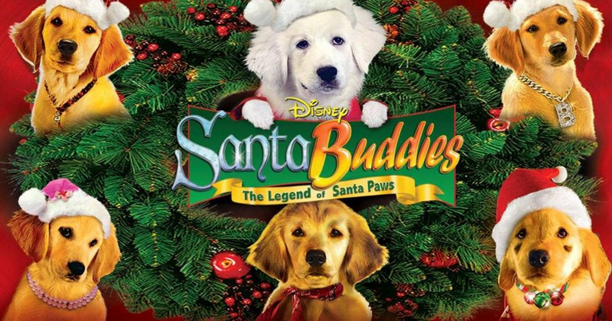 6 puppies from santa buddies movie