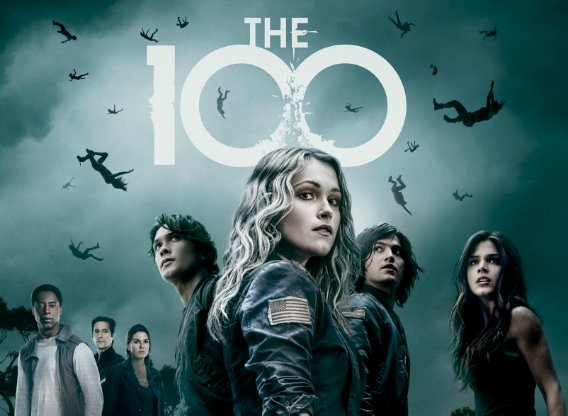 The 100 poster and cast