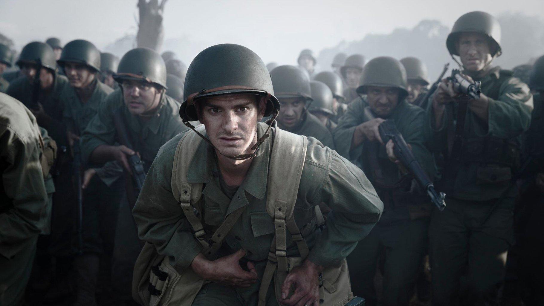 scene from war movie