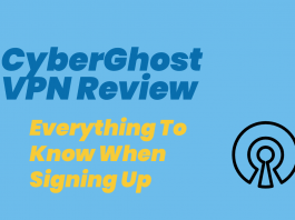 cyberghost vpn review featured image