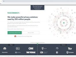 official website of Disconnect VPN