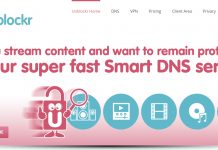 unblockr review - website screenshot