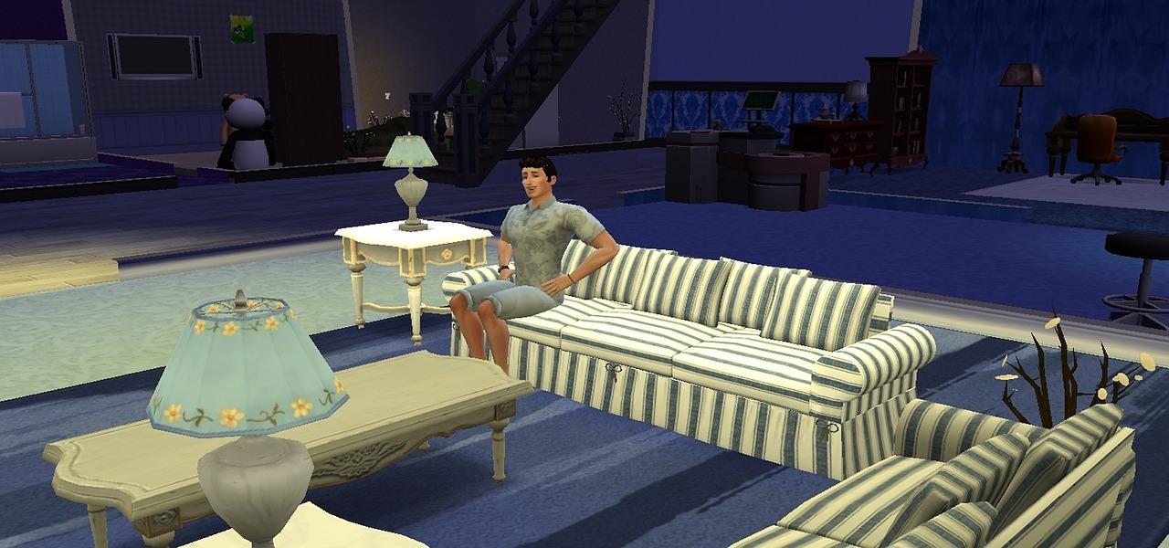 Dad Sims 4 Game