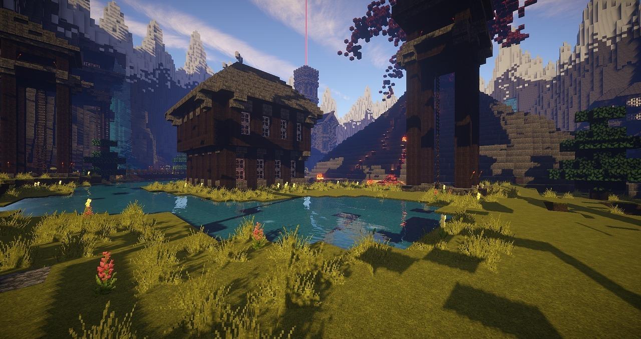 Minecraft Video Games Blocks