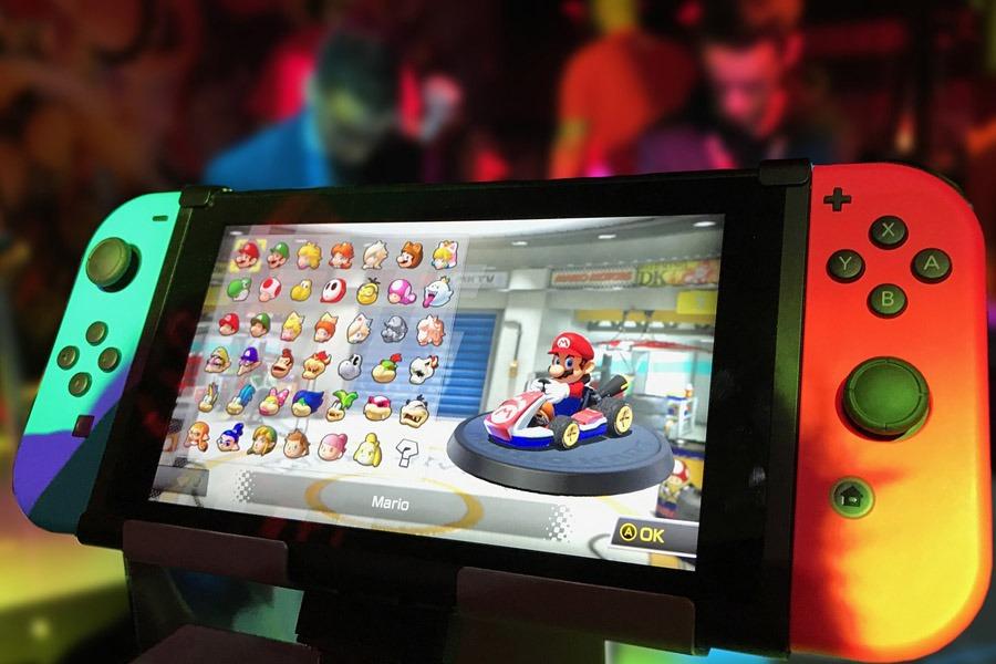 Mario Game on Nintendo Switch