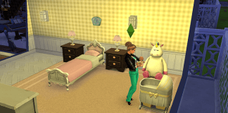 relaxing games sims-4-mother-baby-game-room