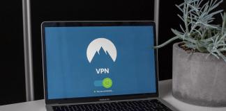 vpn in a laptop