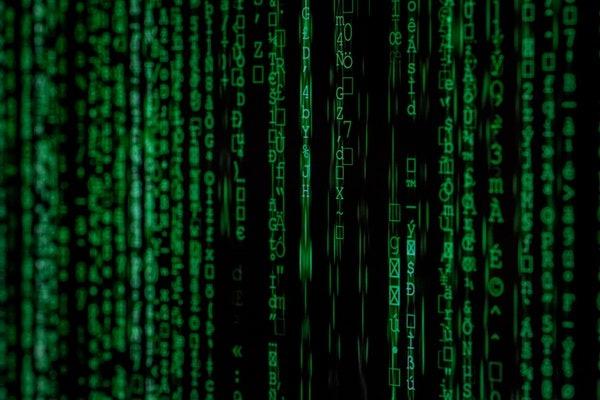 green encryption matrix