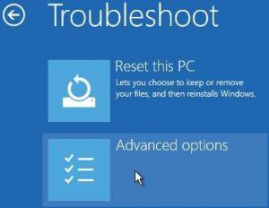 Troubleshoot Windows advanced