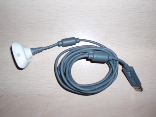 A cable for an xbox one play and charge kit.
