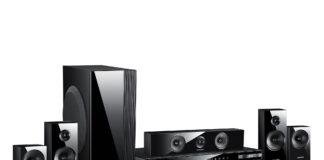 A Saumsung wireless surround sound system